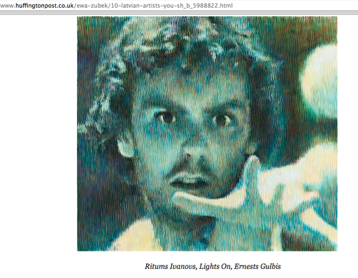 Ritums Ivanovs LIghts On Ernests Gulbis the tennis player